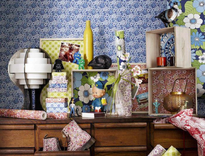 Tienda online telas papel papeles pintados eco happy nos hacen sonre r part 6034 - Maison decor papeles pintados ...