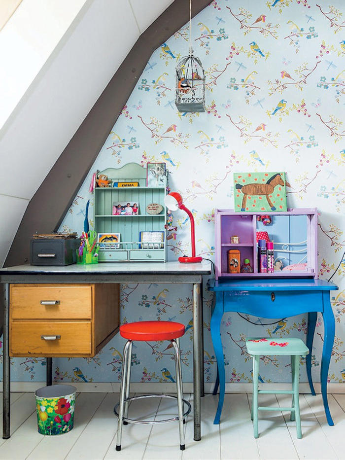 Ideas para decorar un rinc n de trabajo en casa telas - Donde estudiar pintura ...