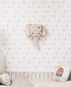 Tienda online telas papel papel pintado estrellas for Papel pintado estrellas