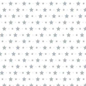 Tienda online telas papel mural papel pintado con for Papel pintado estrellas
