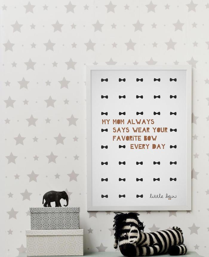 Tienda online telas papel estrellas y estrellitas en for Papel pintado estrellas