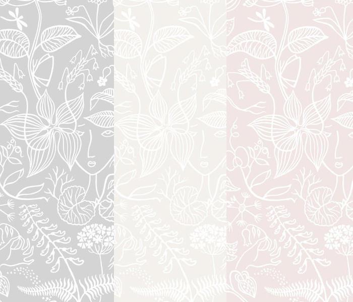 Tienda online telas papel un dormitorio empapelado con - Marcas de papel pintado ...