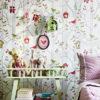 Decora las paredes con el papel pintado infantil bosque