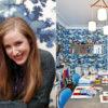 El papel pintado Raphael en casa de Alix Thomsen