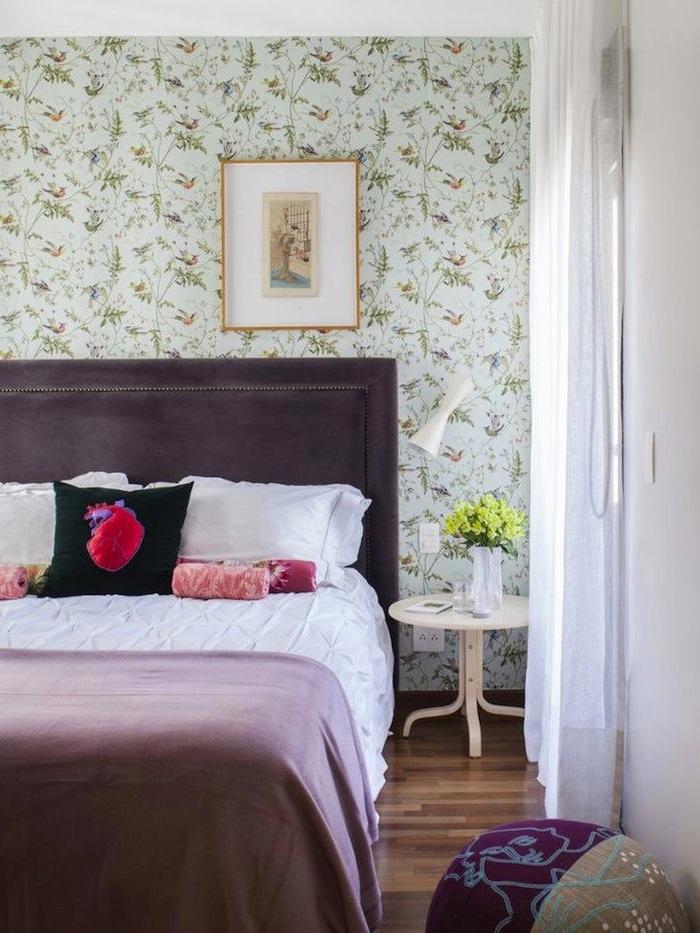 Tienda online telas papel decorando con un cl sico - Papel pintado dormitorio principal ...
