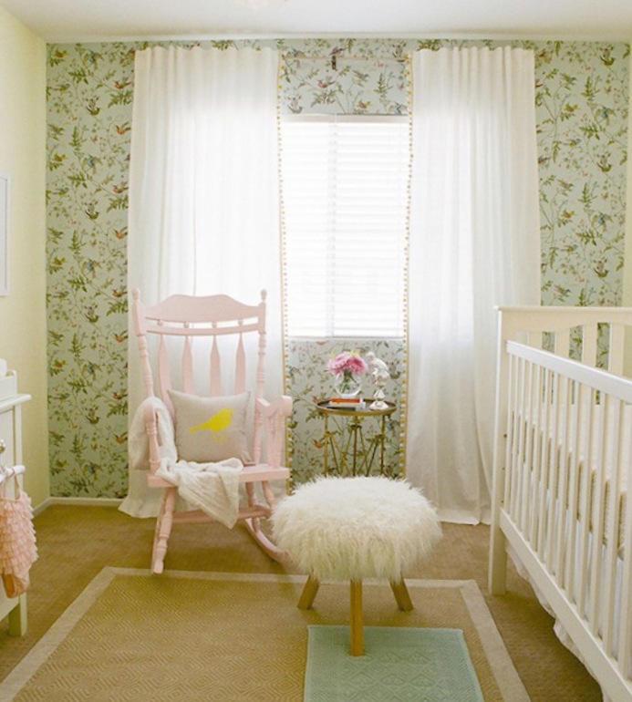 Tienda online telas papel decorando con un cl sico - Papeles pintados bebe ...