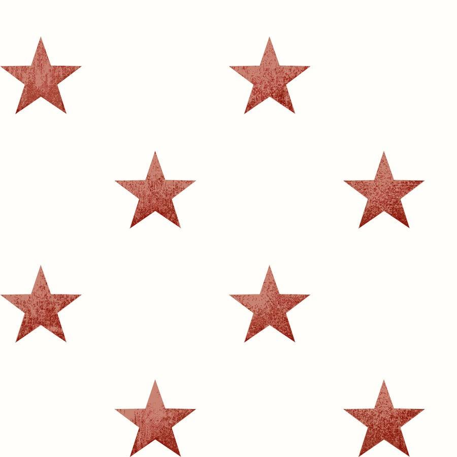 tienda online telas & papel   Papel pintado estrellas vintage de ...