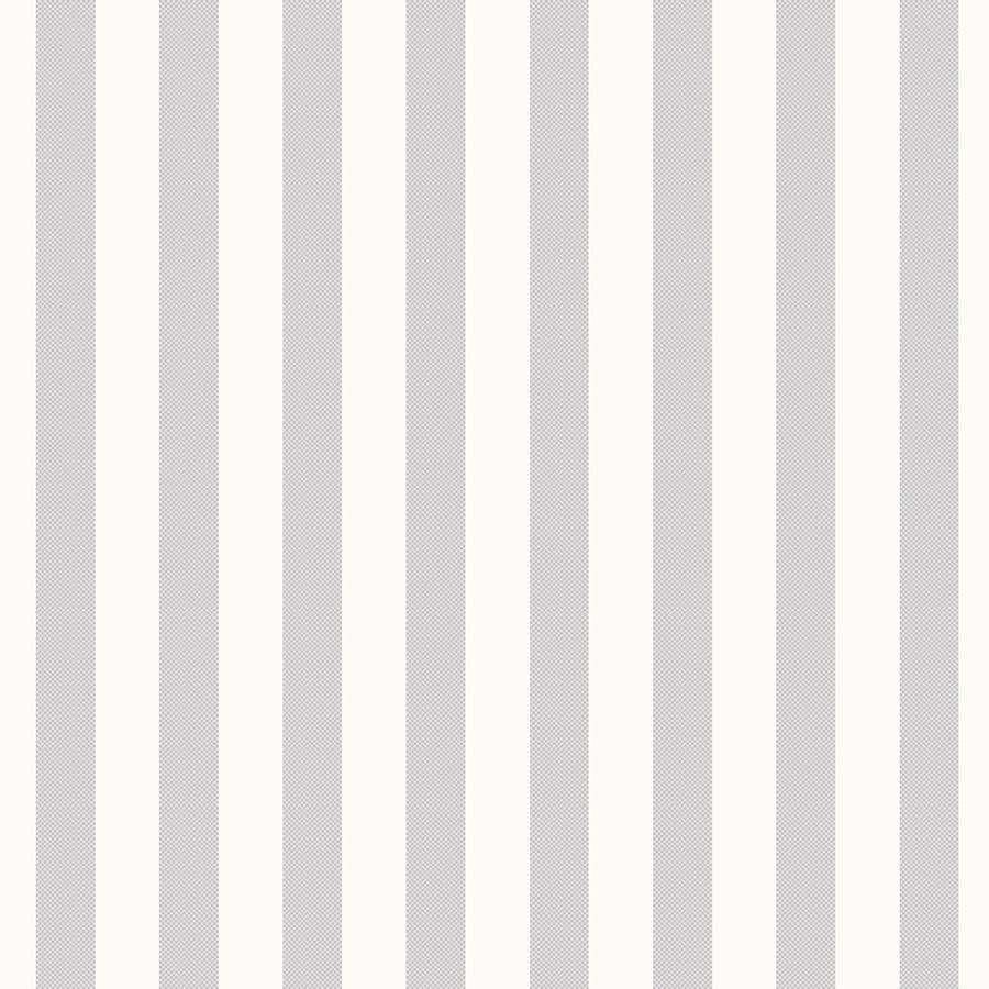 Tienda online telas papel papel pintado rayas pixel gris for Papel pintado rayas grises