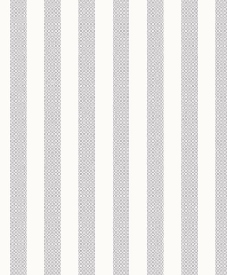 Tienda online telas papel papel pintado rayas pixel gris for Papel pintado blanco y plata