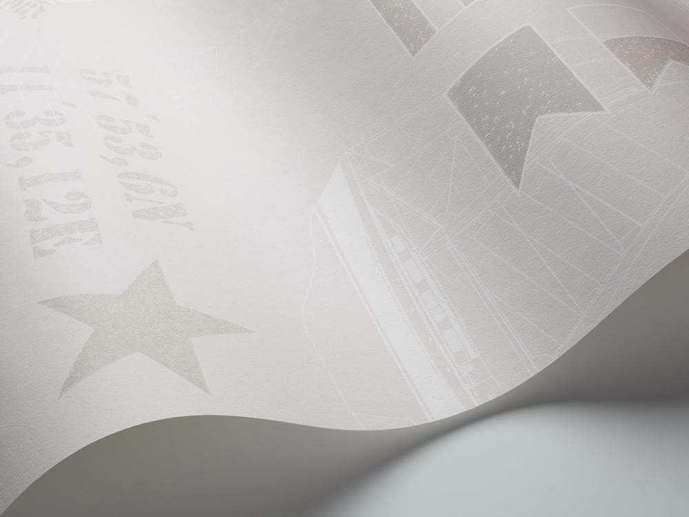 Tienda online telas papel papel pintado faros gris - Papel pintado gris ...