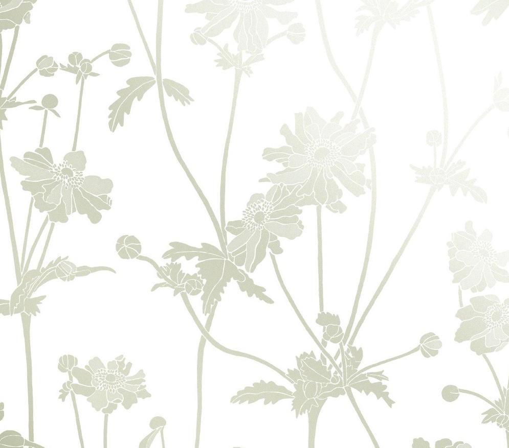 Tienda online telas papel papel pintado flores sophie - Papel pintado colores ...