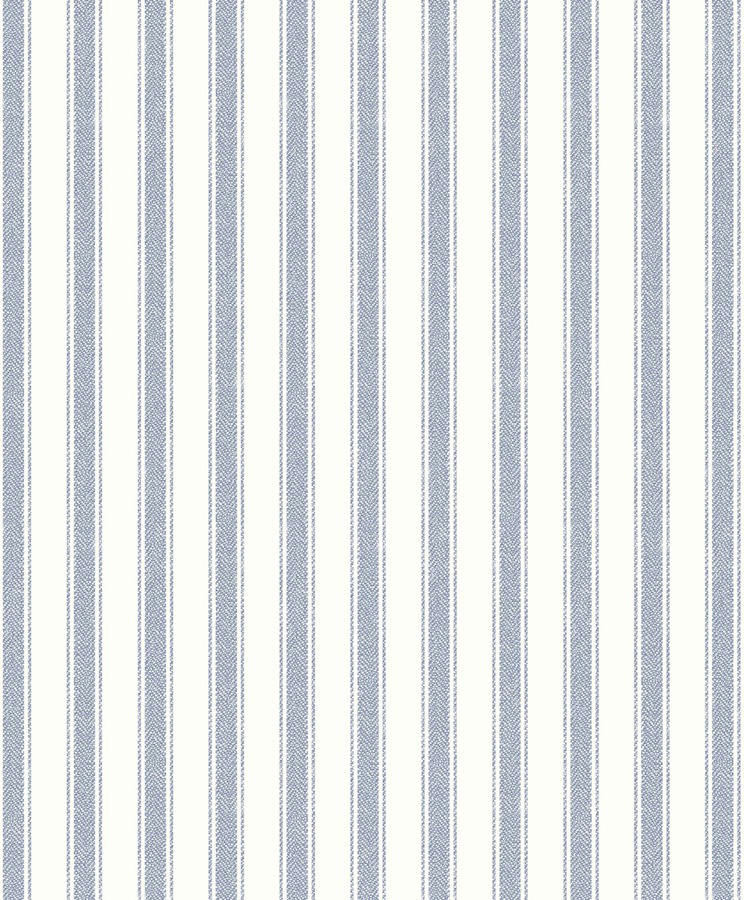 Tienda online telas papel papel pintado rayas for Papel pintado azul