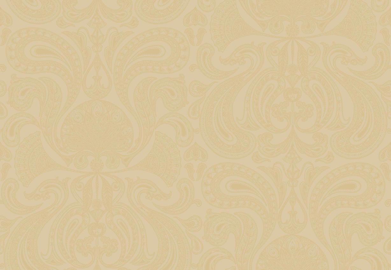 Tienda online telas papel papel pintado malabar dorado - Papel pintado online ...