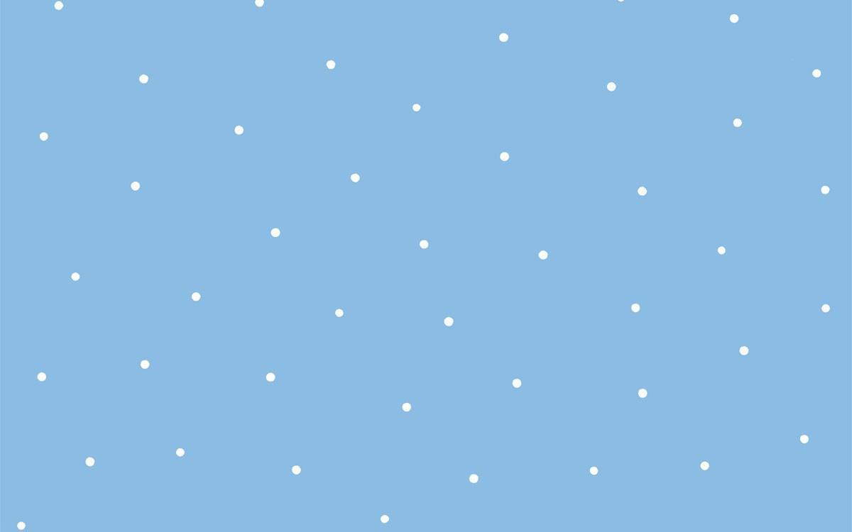 Papel pintado lunares mia con fondo azul telas papel for Papel pintado de lunares