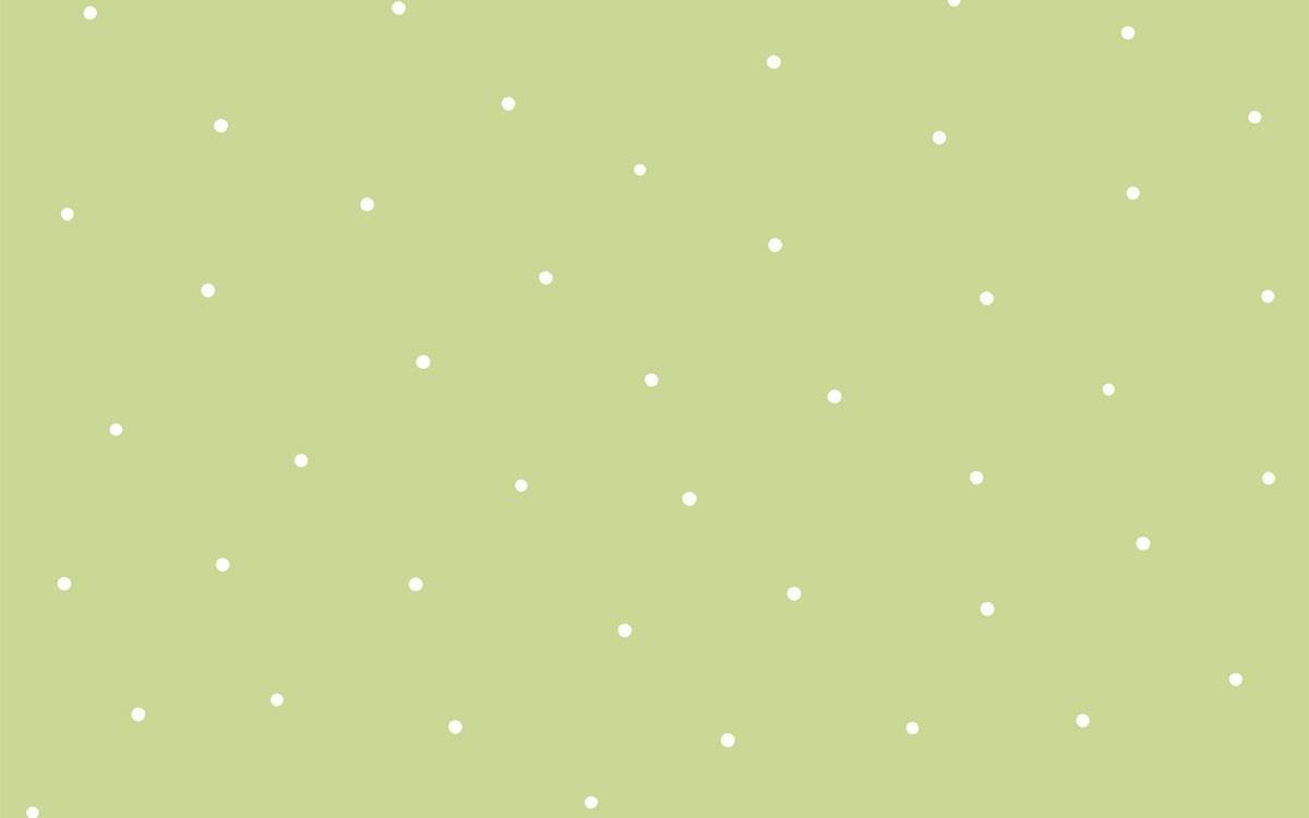 Papel pintado lunares mia con fondo verde telas papel for Papel pintado de lunares