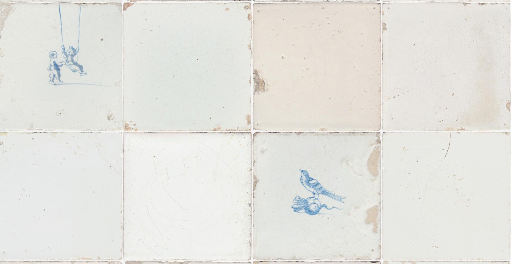 Tienda online telas papel papel pintado tiles con azulejos - Papel pintado sobre azulejos ...