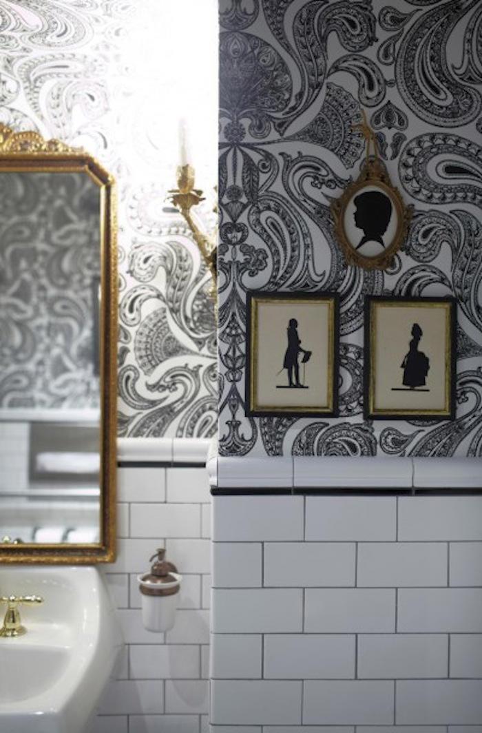 Tienda online telas papel papel pintado malabar - Banos con papel pintado ...