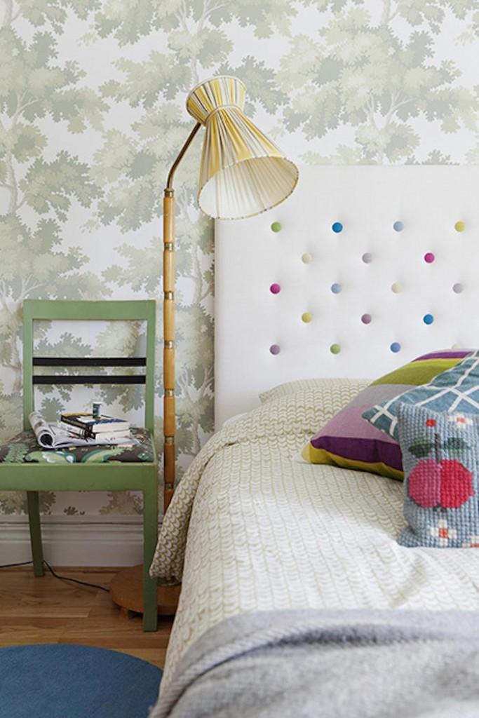 Tienda online telas papel decorar con verde un papel - Habitaciones con papel pintado ...