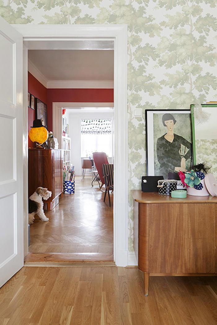 Tienda online telas papel decorar con verde un papel - Decorar papel pintado ...