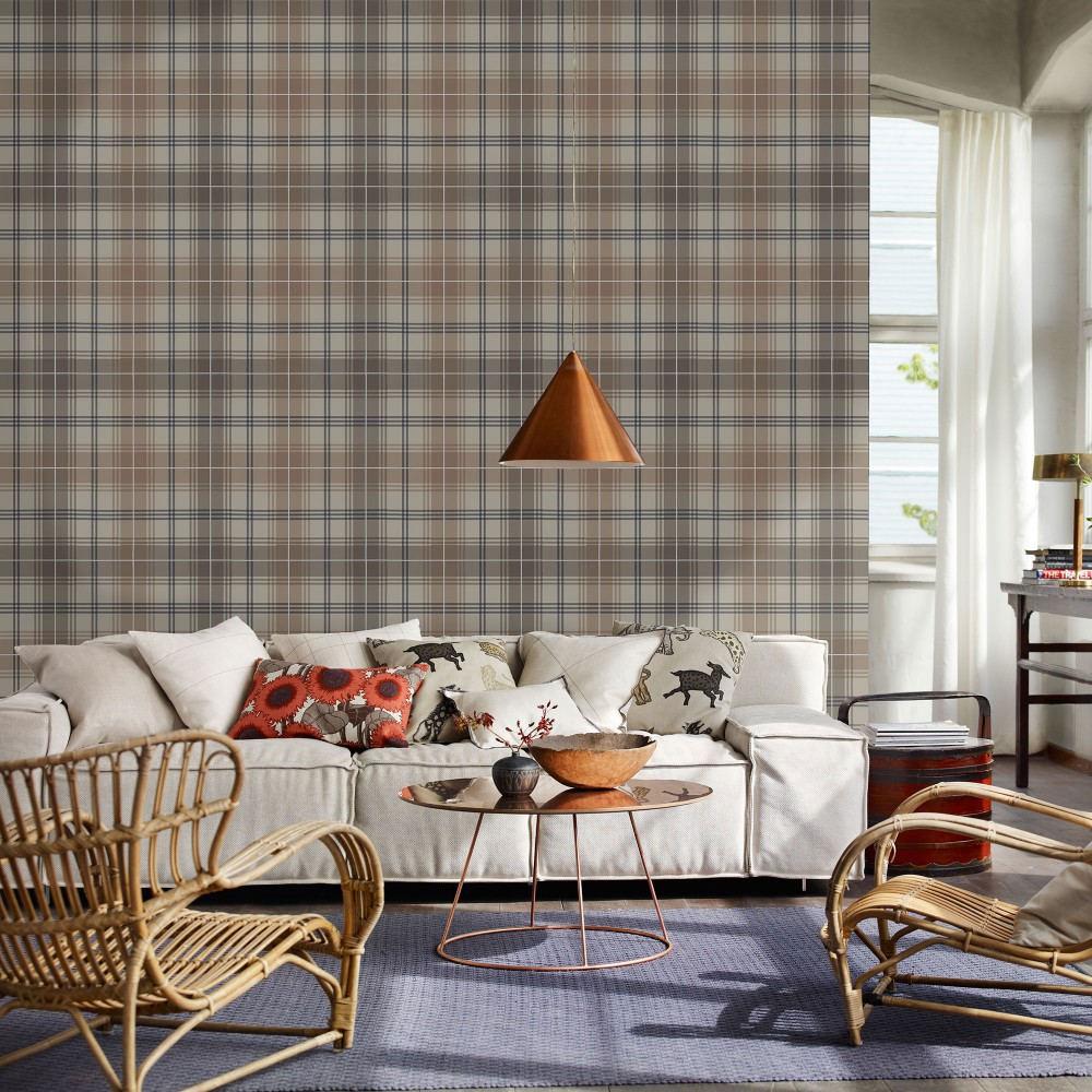 Tienda online telas papel papel pintado cuadros for Papel pintado salon marron