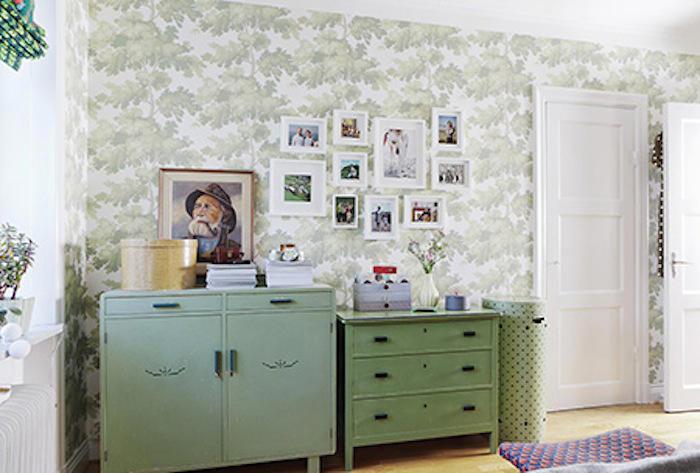Tienda online telas papel decorar con verde un papel - Decorar muebles con papel ...
