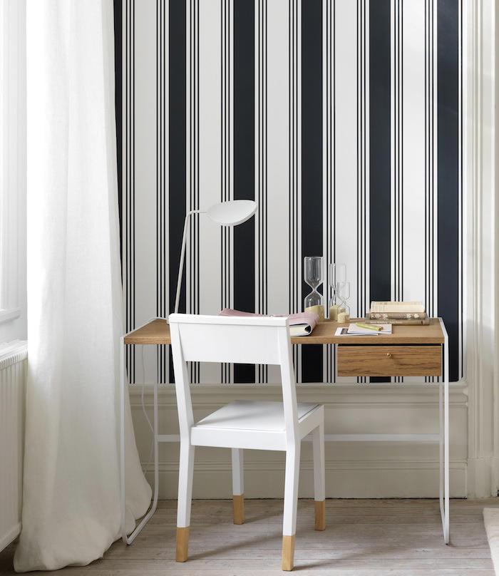 Tienda online telas papel papeles pintados a rayas de - Papeles pintados rayas verticales ...