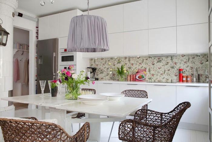Tienda online telas papel papeles pintados para la cocina y el ba o - Cocinas con azulejos pintados ...