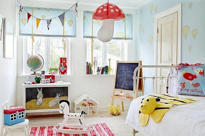 tienda online telas & papel | Empapelar el cuarto de jugar