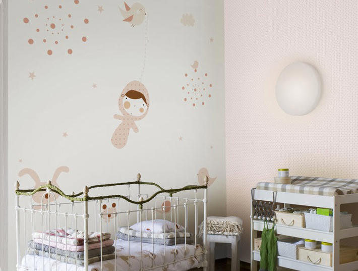 Tienda online telas papel decora su cuarto con murales - Papel infantil para pared ...