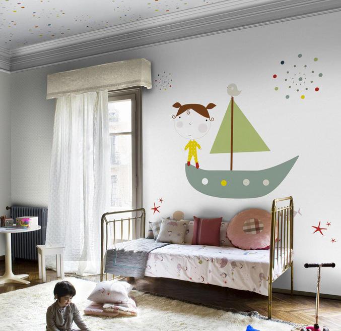 tienda online telas papel decora su cuarto con murales