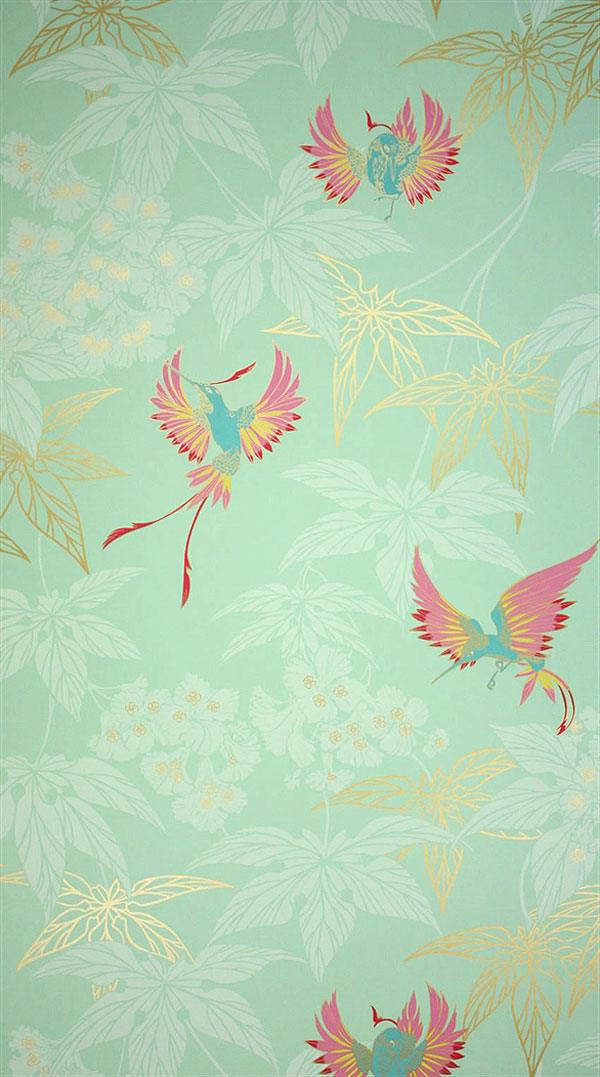 green hummingbirds