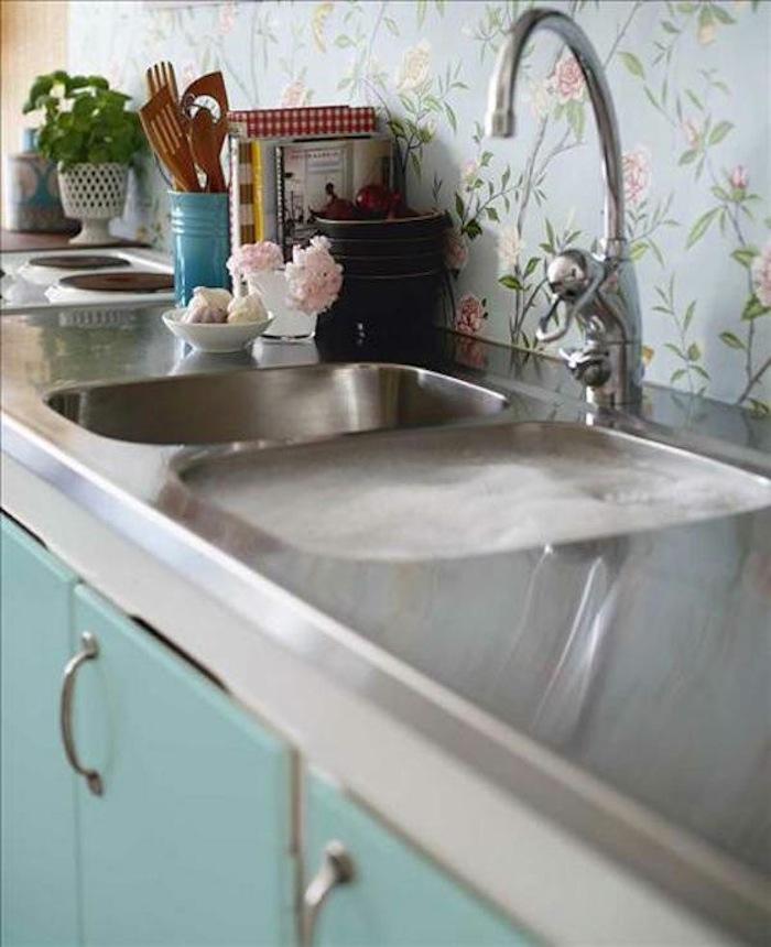 Tienda online telas papel papeles pintados para la cocina y el ba o - Papel pintado en cocina ...