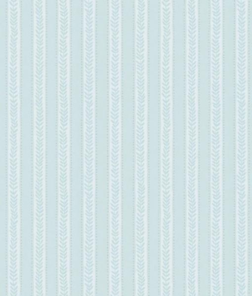 Tienda online telas papel papel pintado de rayas paula for Papel pintado color turquesa