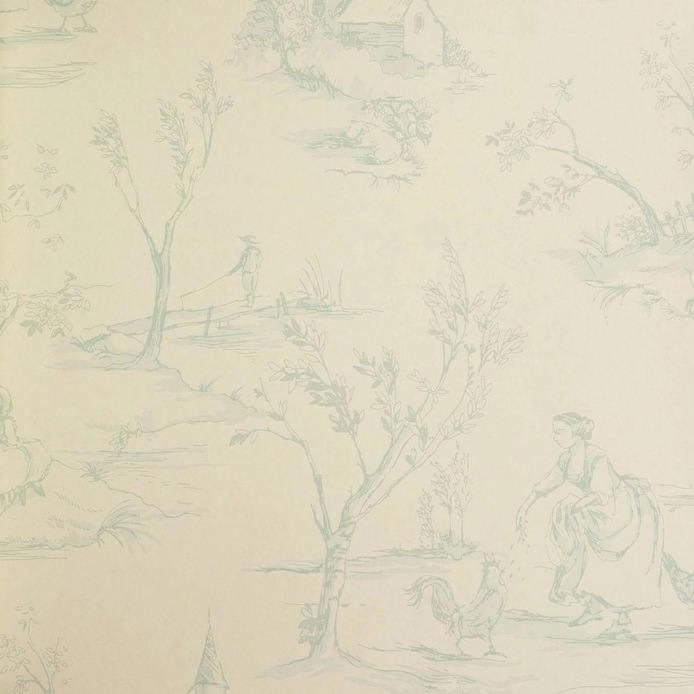 Tienda online telas papel sorteamos un rollo de papel - Papel pintado toile de jouy ...