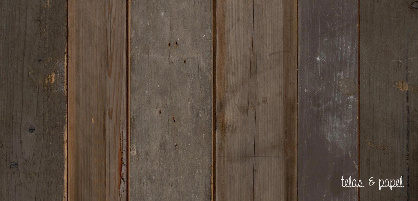 Tienda online telas papel papel pintado listones for Papel pintado marron oscuro