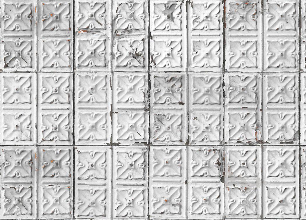 Tienda online telas papel papel pintado brooklyn tins - Papel pintado online ...