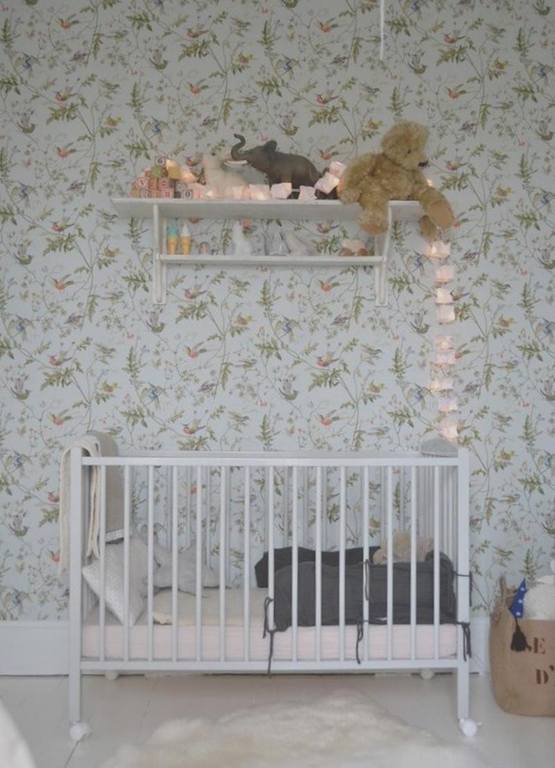 Tienda online telas papel decora la habitaci n de tu - Habitacion bebe papel pintado ...