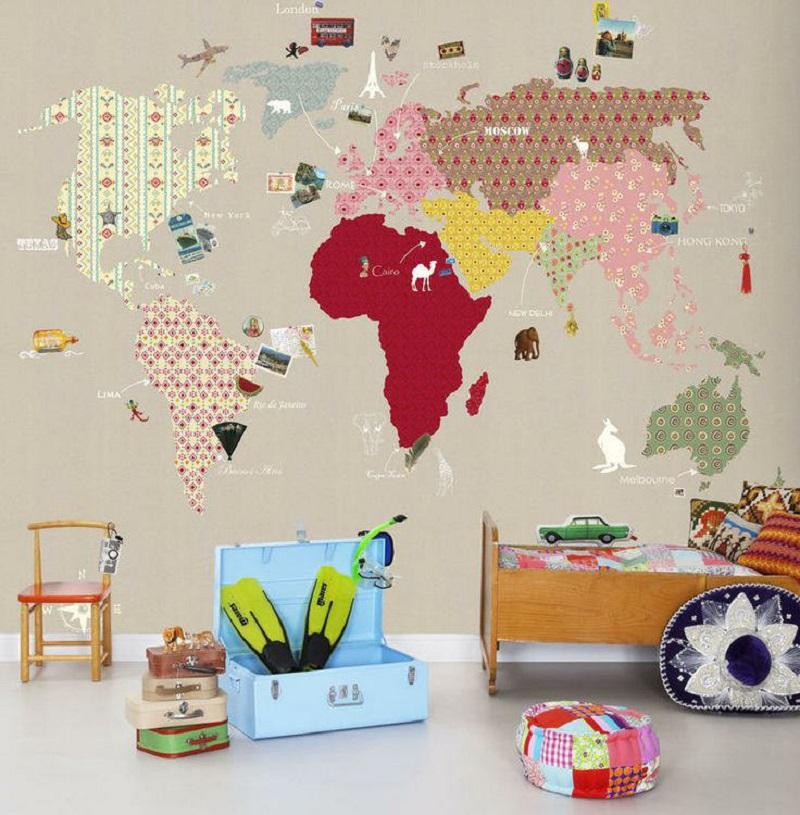 Tienda online telas papel papel pintado de ciudades y for Papel pintado ciudades