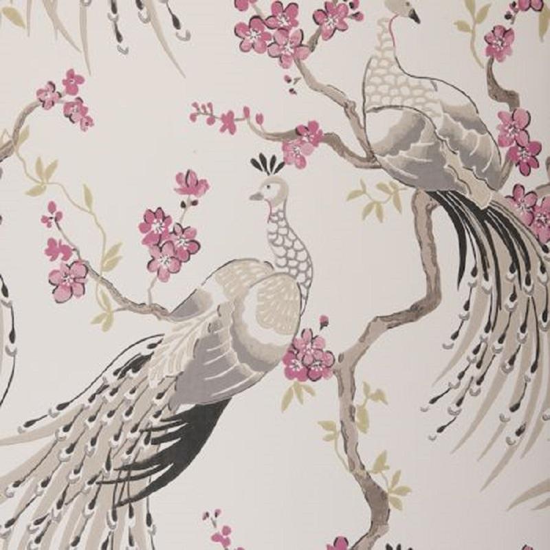 Tienda online telas papel buscas un estilo natural - Papel vintage pared ...