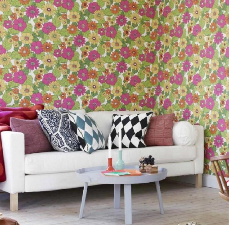 Tienda online telas papel consejos para instalar el - Colocar papel pintado ...
