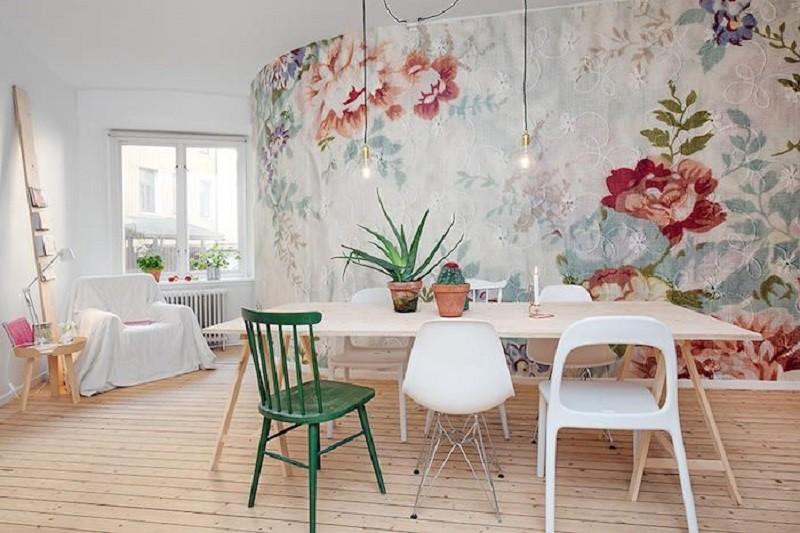 Tienda online telas papel consejos para instalar el for Colocar papel pintado