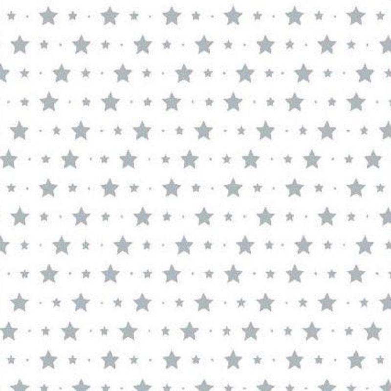Tienda online telas papel decora la habitaci n de tu for Papel pintado blanco y gris