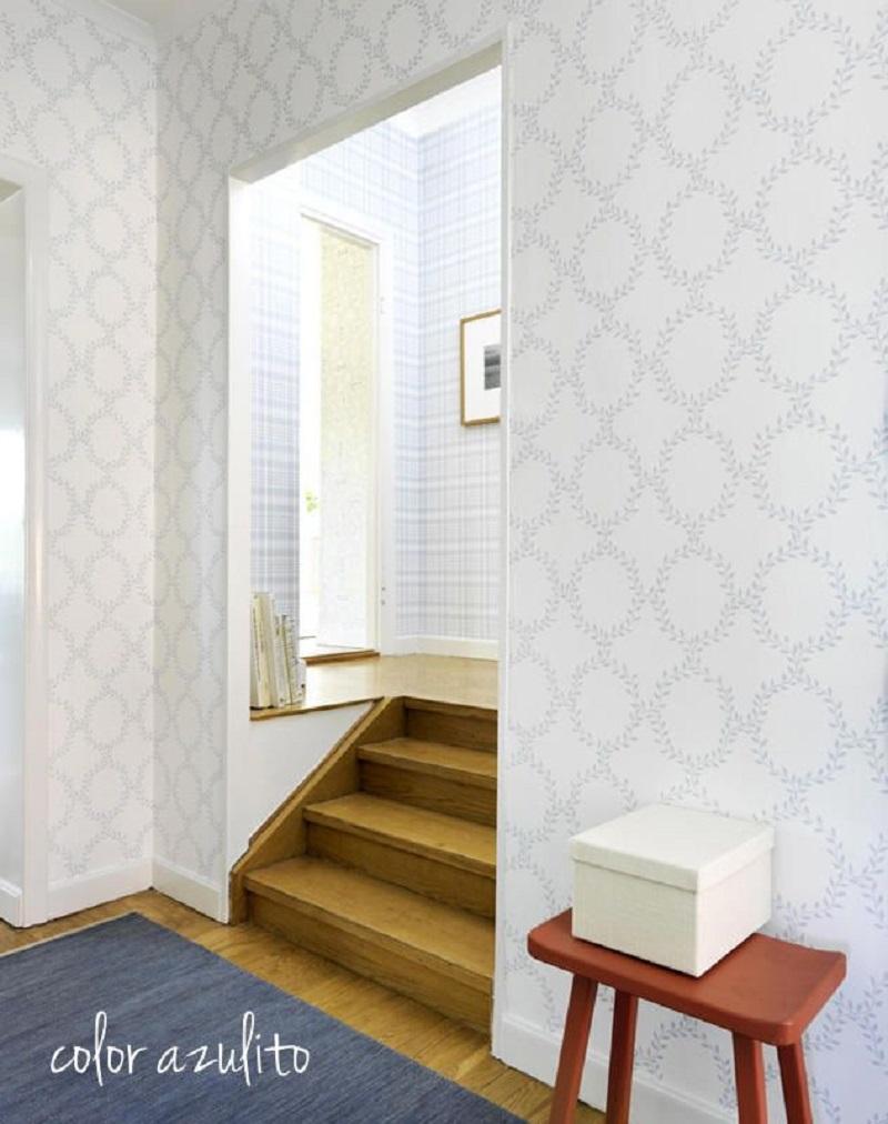 redecorar el hogar con papel pintado