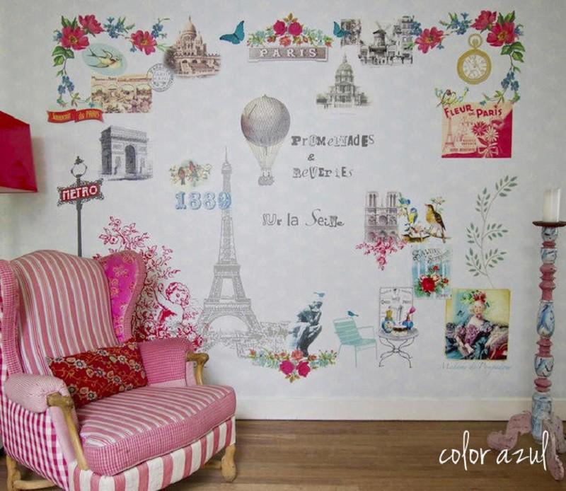 Tienda online telas papel lleva a tu casa par s o - Papel pintado nueva york ...