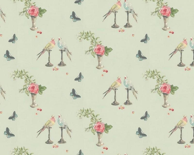 Tienda online telas papel estampados animales la gran - Papel pintado animales ...