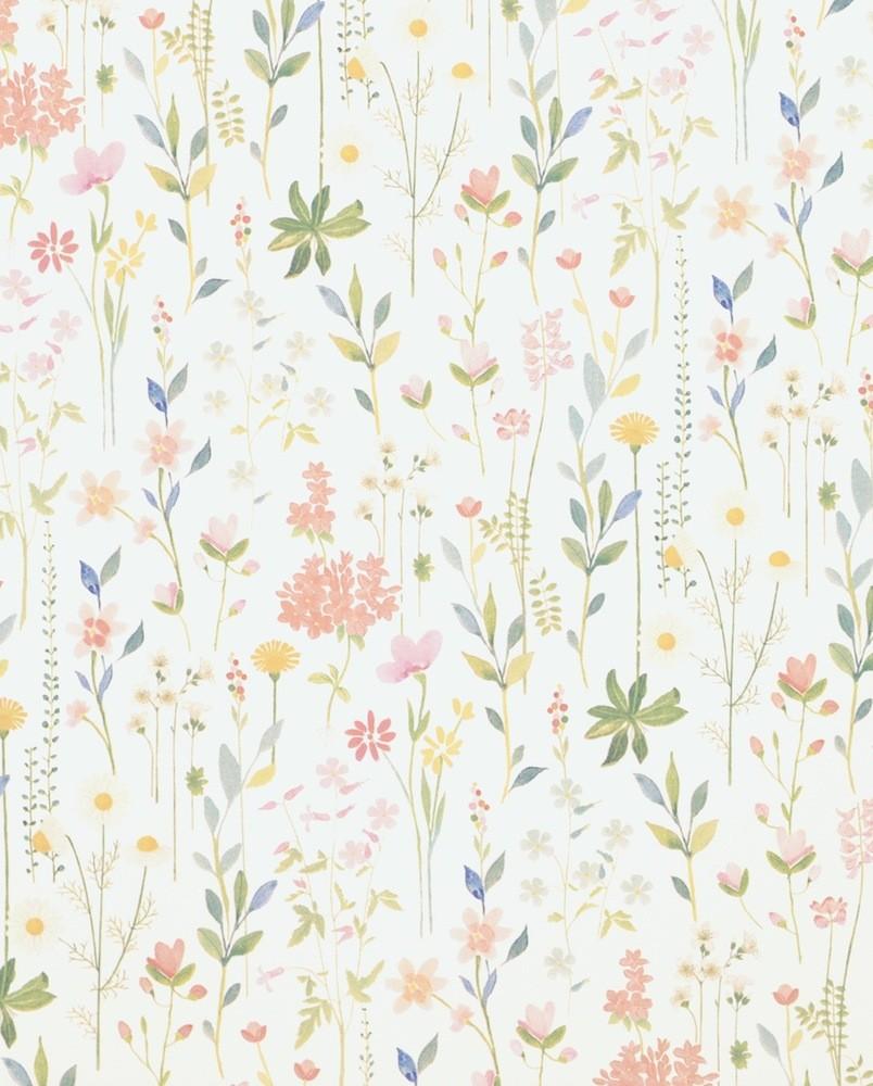 Tienda online telas papel papel pintado field of for Papel pintado blanco