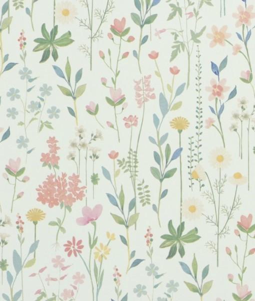 Tienda online telas papel papel pintado field of for Papel pintado hojas verdes
