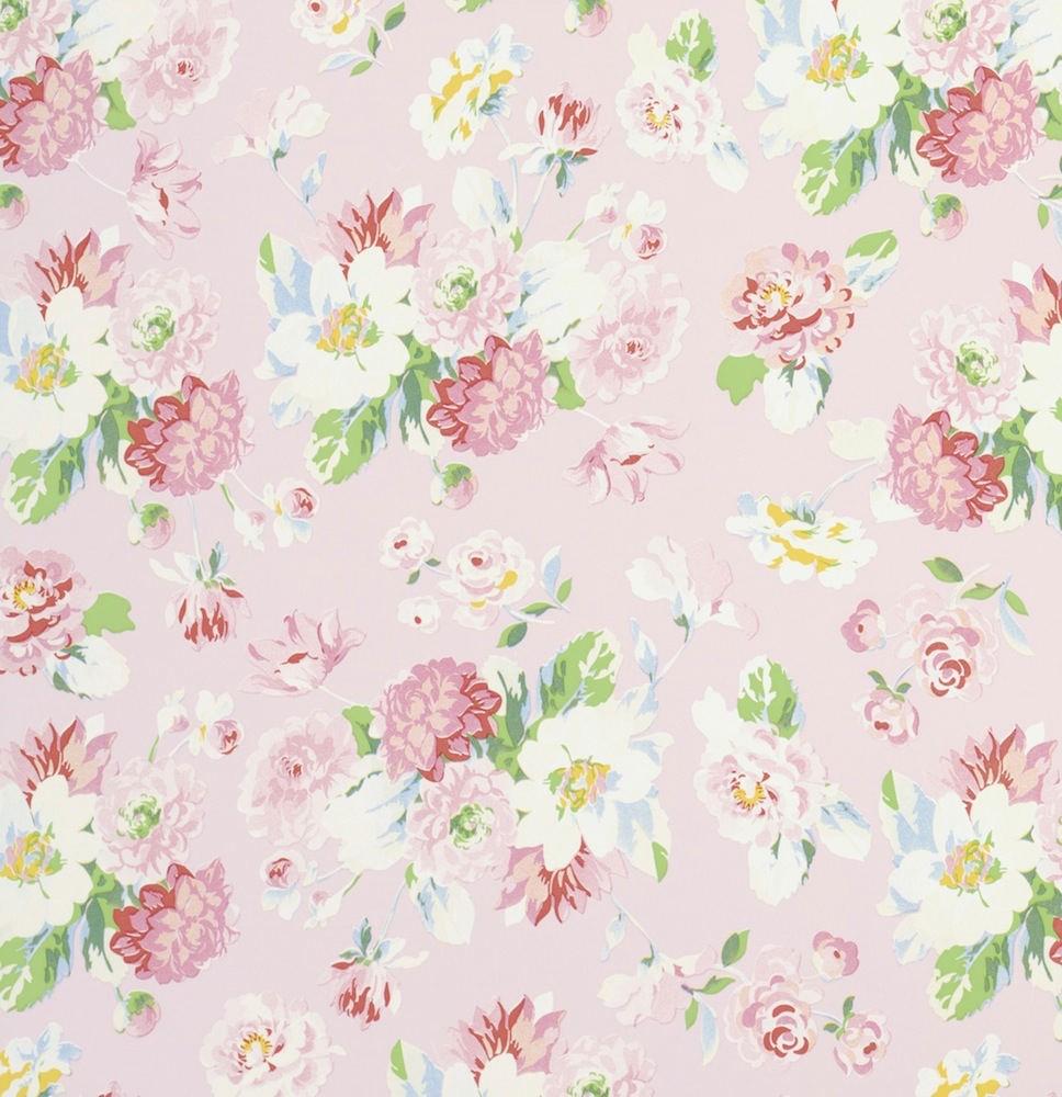 Tienda online telas papel papel pintado la vie en rose rosa - Papel pintado rosa ...
