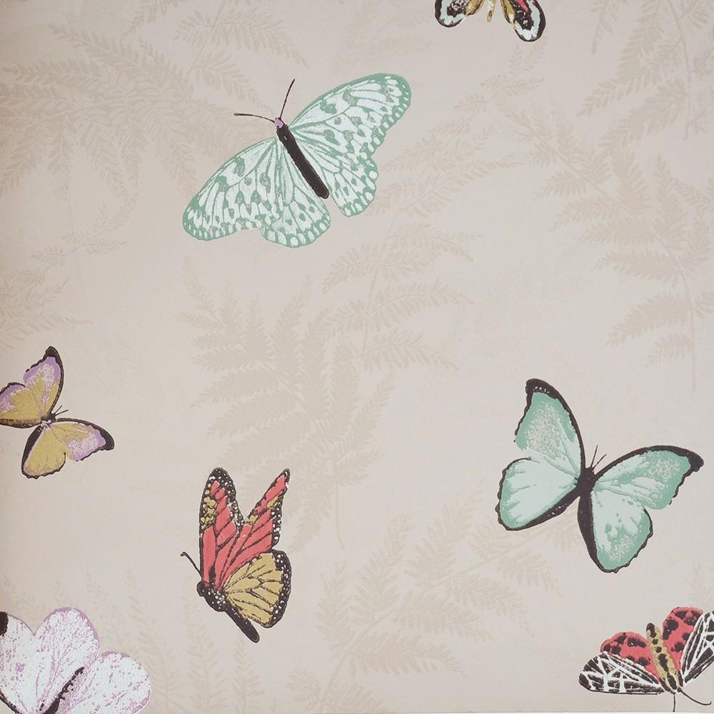 tienda online telas papel papel pintado mariposas ForPapel Pintado Mariposas