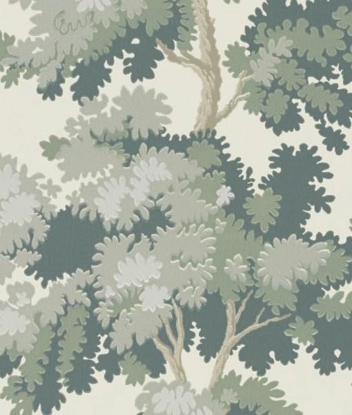 Tienda online telas papel papel pintado raphael verde - Papel pintado antiguo ...